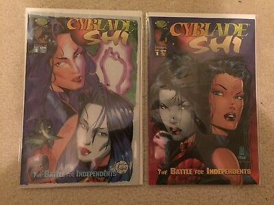 Cyblade / Shi #1 (1St Appearance Witchblade) Reg + William Tucci Cover Vf+ Nm-