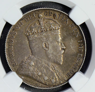Canada 1903 H 50 Cents silver NGC XF NG0537 combine shipping