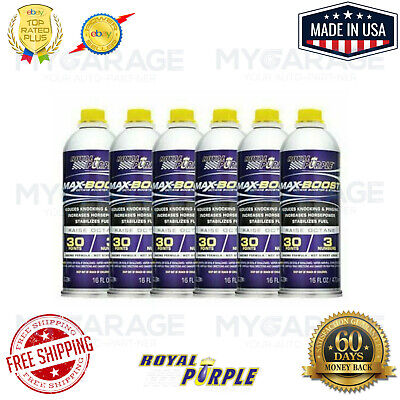Royal Purple 11757 Max-Boost Octane Booster and Stabilizer - 16 oz. x Pack of 6