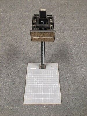 """Photography Professional 31"""" Macro stand with 16""""x20"""" base, Adjustable Stand Rod"""