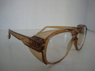"Vintage Z87 AO American Optical Safety Glasses Side Shields 5-3/4"" goggle"