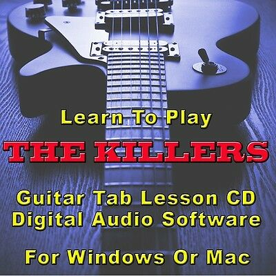 KILLERS (THE) GUITAR Tab Lesson CD Software - 45 Songs - $8.75 ...
