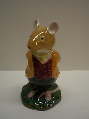 """Royal Doulton """"Lord Woodmouse"""" Bunny Rabbit Figurine; 4"""" tall Copyright 1982"""