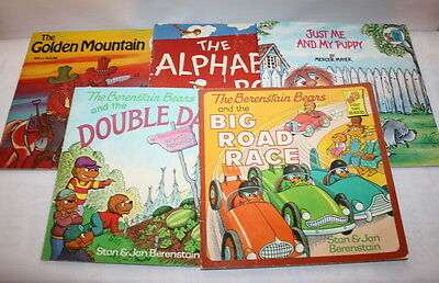 Lot Of 5 Vintage Big Chapter Books The Berenstain Bears Stan Jan