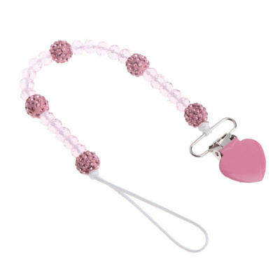 Soother Baby Pacifier Chain Dummy Soother Leash Strap Nipple Feeding Clips New