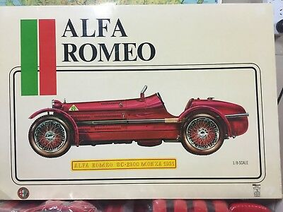 Alfa Romeo 8C: 2300 MONZA 1931 in 1:8 Scale by POCHER