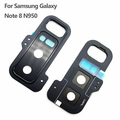Back Camera Glass Lens Holder Frame Cover Glue For Samsung Galaxy Note 8 N950