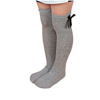 Boot Bowknot Fashion Sweet Women Winter Long Stockings Knees High Socks Warm