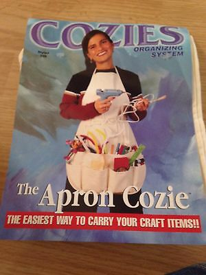 The Cozie Apron Organizer Craft One Size Fits All Apron USA New