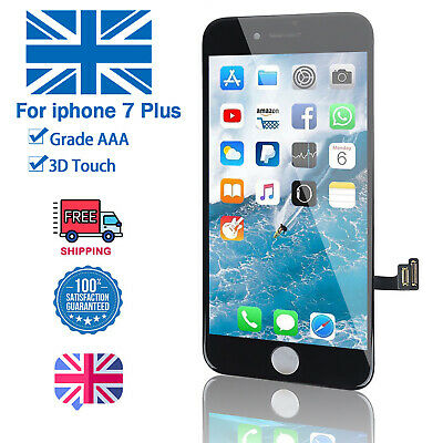 Screen LCD For iPhone 7 Plus Digitizer Touch Display Replacement Black 3D TOUCH
