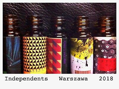 INDEPENDENT'S WARSAW SAMPLES 1ml  iso e super ambroxan oils tincture resins