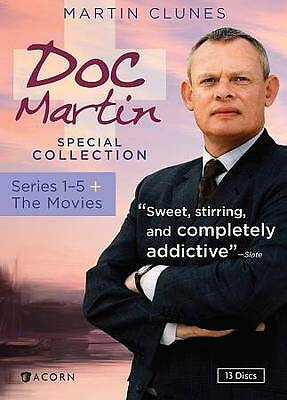 Doc Martin Special Collection: Series 1-5 plus the Movies, Good DVD, ,