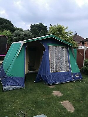 SUNNCAMP CONTINENTAL 6 Frame Tent Camping 6 berth with instructions ...