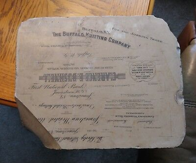 Antique Lithograph Printing Stone (c. Early 1900's) Buffalo NY etc.