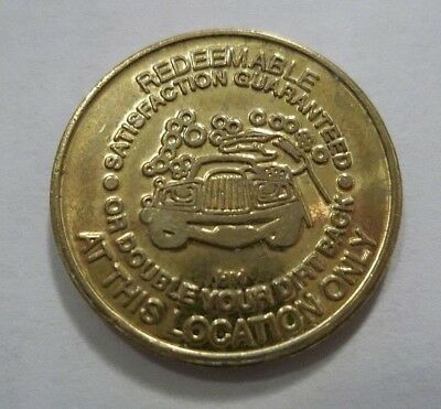 Garden Grove Ca Checker'd Flag Car Wash California Trade Token Self Service