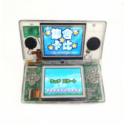 Clear White Refurbished Nintendo DS Lite Game Console NDSL Video Game System