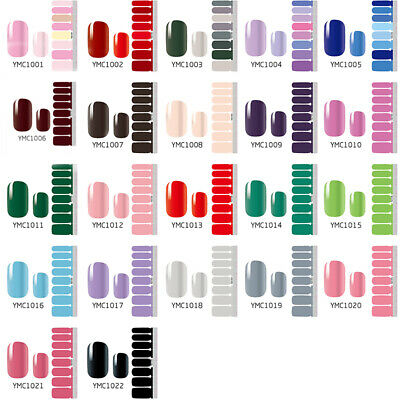 Womens Nail Wraps Stickers Full Self Adhesive Polish Foils Decoration Art Decal