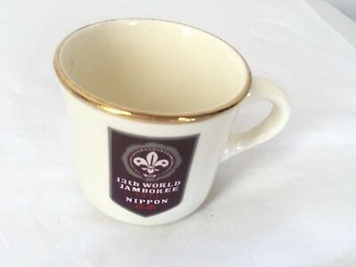Vintage Boy Scouts 1971 13th World Jamboree Coffee Tea Mug Cup USA BSA