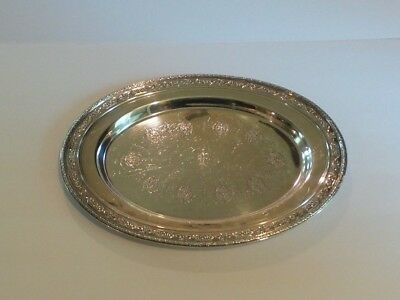 "Towle LOUIS XIV Sterling Silver 14"" Oval Tray #98161"