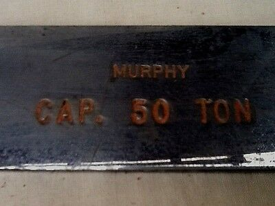 Antique Murphy 50 Ton Scale Truck/Train Scale?