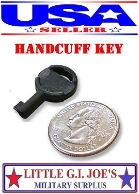 Universal Standard Fit Non-Metallic Covert Spy Handcuff Key Fits Most All Cuffs