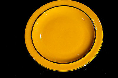 Beautiful Vintage Thomas of Germany Scandic Yellow Bread Plate