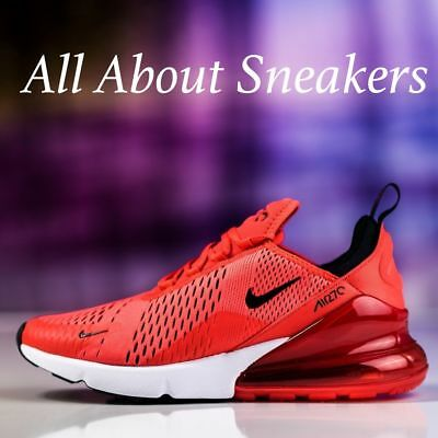 official photos 1c1e2 f0639 ... top quality nike air max 270 habanero red mens trainers limited stock  all sizes yogi 7c956