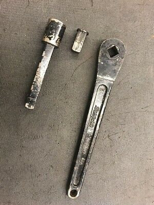 Vintage Snap-On  Off/on Drive Ratchet Wrench Lot