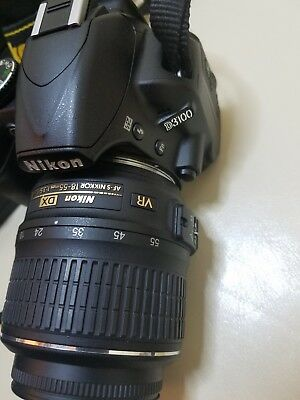 Nikon D D3100 14.2MP Digital SLR Camera - Black (Kit w/ AF-S DX ED VR G 18-55mm