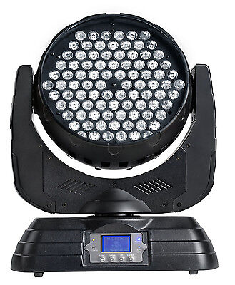 2 x PR XLED390 Moving LED Wash Lights with dual road case