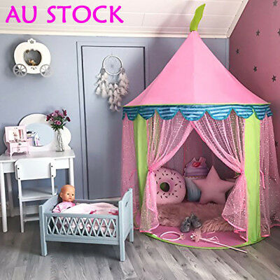 Princess Castle Play House Large Indoor/Outdoor Kids Play Tent For Baby Gift I