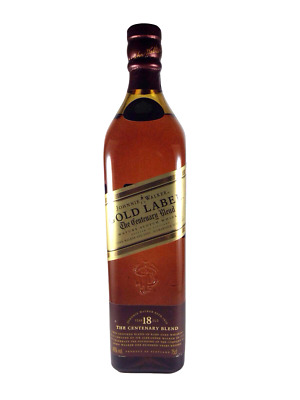 Johnnie Walker Gold Label The Centenary Blend Bottle Only (No Box)