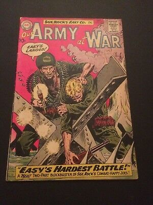 Our Army at War #99 (Oct 1960, DC) Strong VG/ VG+ 4.0-4.5 early Sgt. Rock  DC