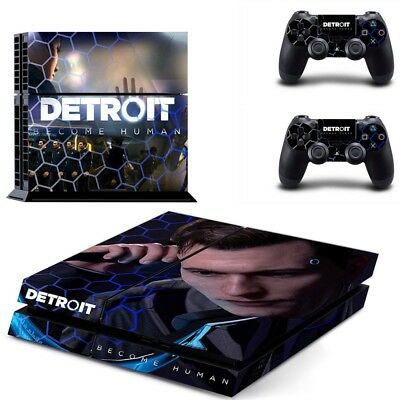 Detroit Become Human PS4 Skin Sticker Cover For Sony PlayStation 4