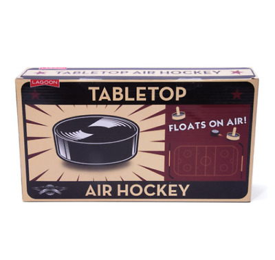 Tabletop Air Hockey Game Home Friends Play Arcade Battery Puck Score Goal Table