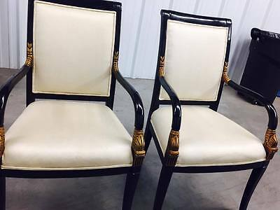 8 Vintage Drexal Heritage Dining Chairs