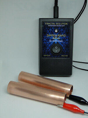 ORGONE 30kHz ZAPPER Dr. Hulda Clark from Fractal Solution ZAPPER-RAPID