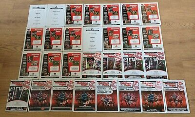 Maidstone Rugby Union Programmes 2005 - 2014