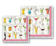 Cocktail Hour Cocktail or Luncheon Paper Napkins by Michel Design Works