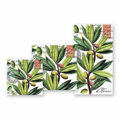 Olive Grove Napkins by Michel Design Works - Cocktail, Luncheon or Hostess