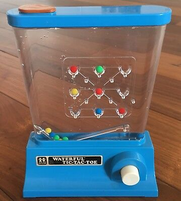 Tomy * Water Games * Waterful * Tic Tac Toe * Vintage * sehr guter Zustand