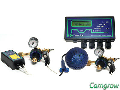 Ecotechnics - Evolution Co2 controller - Complet Kit or Single parts Hydroponics