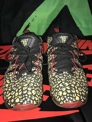 the latest d13e2 4cb1e ... get nike free trainer 7.0 nrg size 11.5 black metallic gold gym red  599087 006 speed