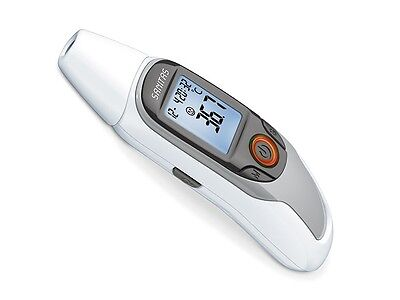 6-in-1 Multi Function Digital Thermometer Fever Ear Forehead Body Heat Health