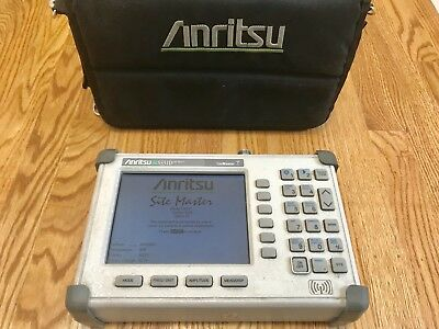 Anritsu S331D Cable and Antenna Analyzer W/Option 03