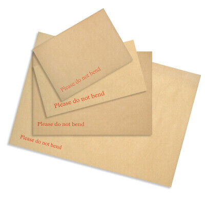 Strong Board Back / Backed Envelopes Do Not Bend C3 C4 C5 C6 All Quantities