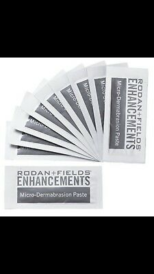 Rodan + Fields microdermabrasion paste NEW in box, 10 packets free shipping***
