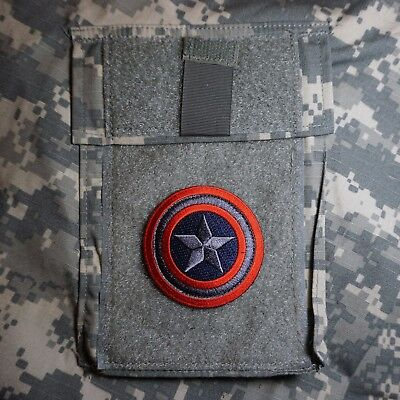 Captain America Shield Embroidered Tactical Morale Patch