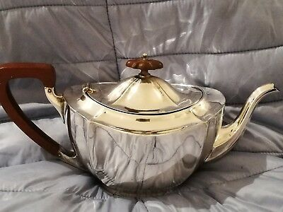 Silver plate tea pot by Barker Brothers of Birmingham