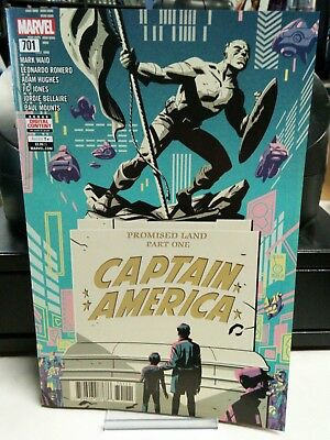 Captain America #701 Regular Cover Marvel Legacy 2017 First Print 2018